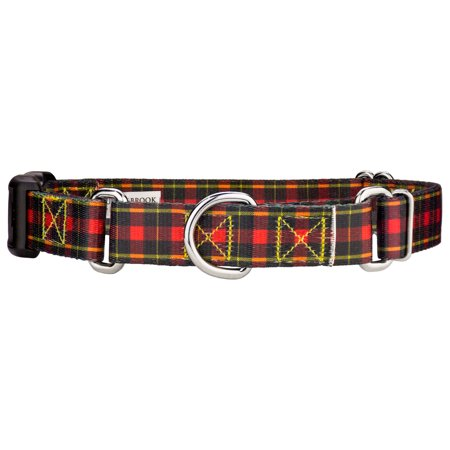 Country Brook Petz™ Buffalo Plaid Martingale With Deluxe Buckle Dog (Buffalo Buckle)