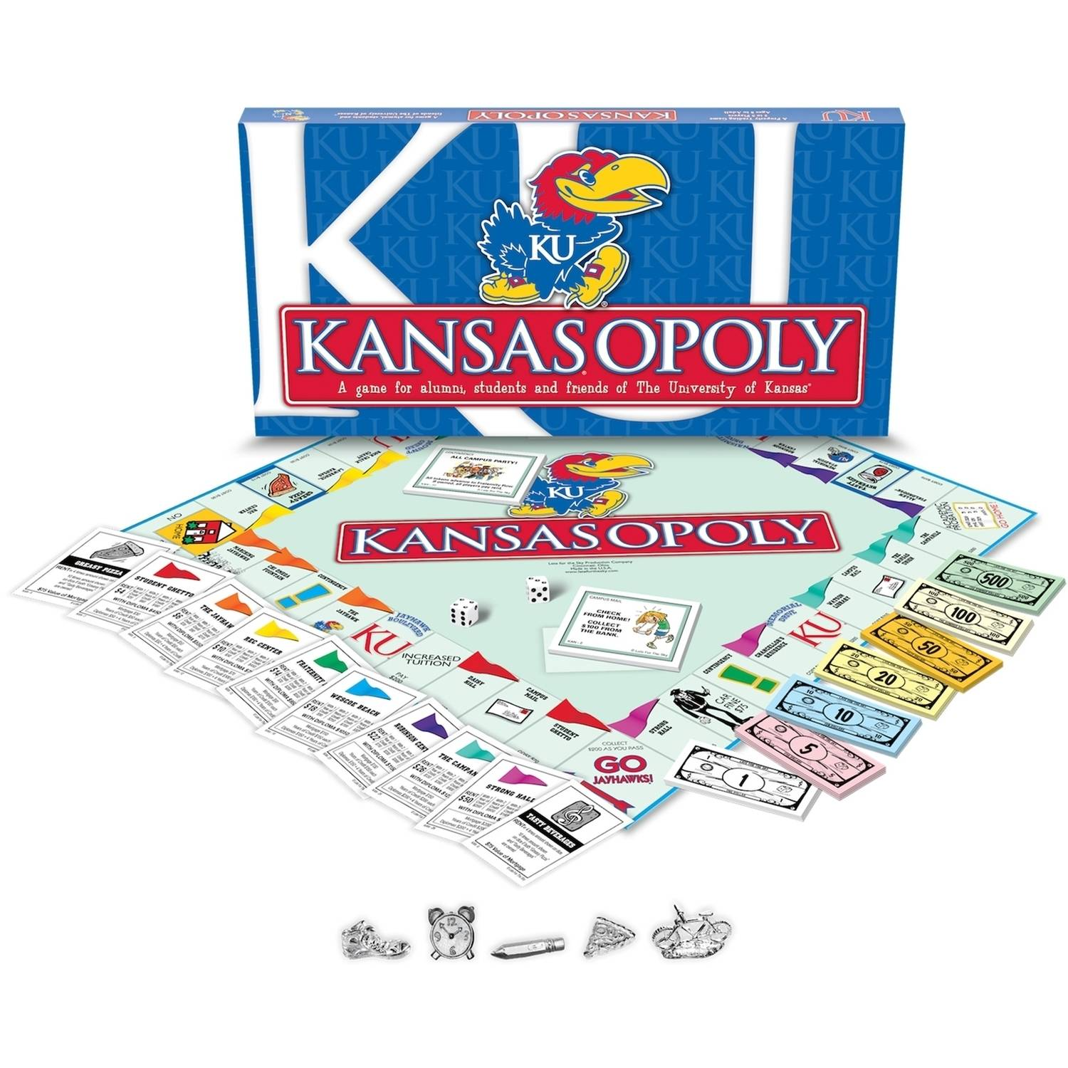 University of Kansas - Kansasopoly Board Game