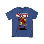Iron Man Tony Stark Superhero Marvel Comics Invincible Adult T-Shirt Tee