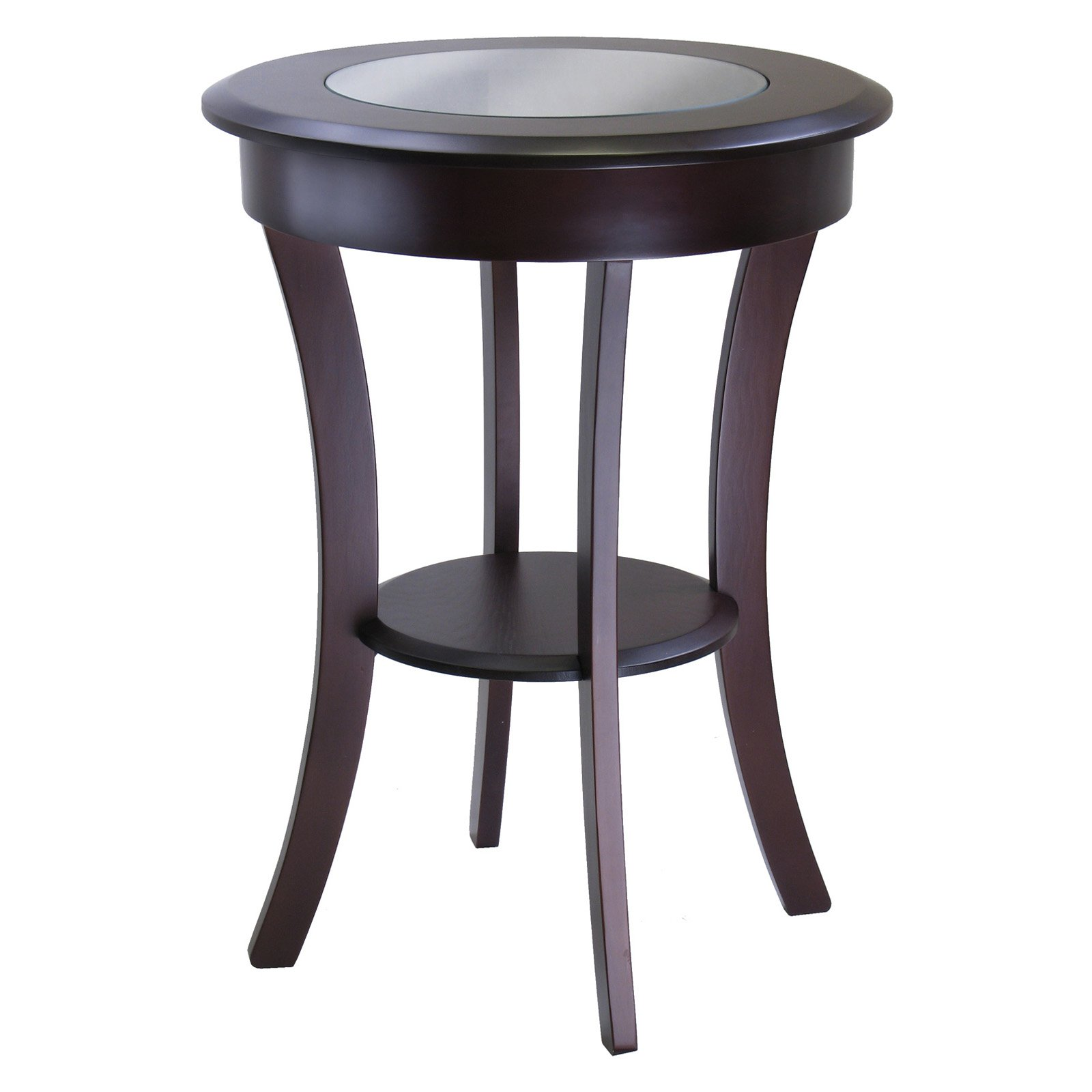 Marvelous Winsome Cassie Round Accent Table   Walmart.com