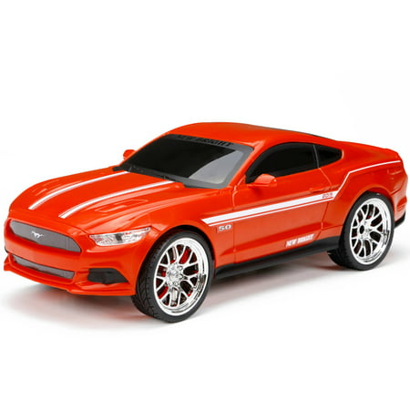 New Bright 1:16 Radio-Control Full-Function Ford Mustang, Red