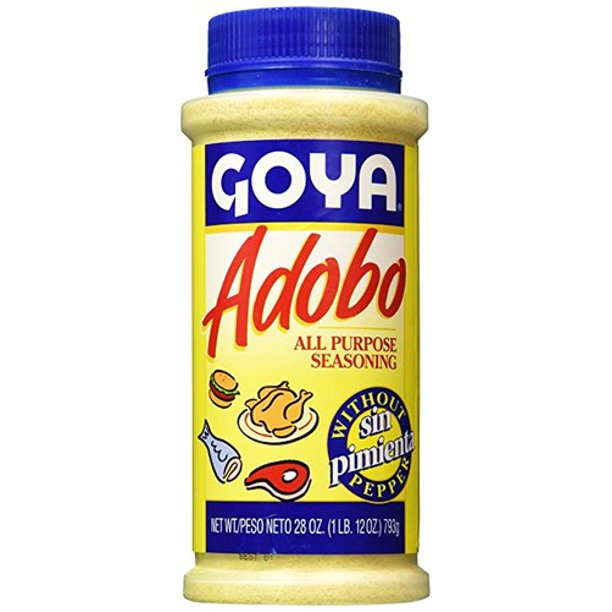 Goya Adobo Seasoning Without Pepper 28 Oz P Walmart Com Walmart Com