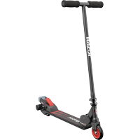 Razor Turbo A Black Label Powered Electric Scooter with Rear Wheel Drive - For ages 8+ and Speeds up to 10 MPH
