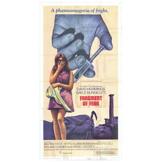 Posterazzi MOVAH8679 Fragment of Fear Movie Poster - 27 x 40 in. - image 1 of 1