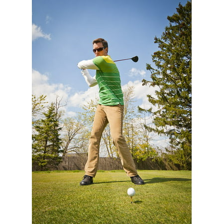 Canvas Print Game Outdoors Golf Golf Club Golfer Golf Ball Stretched Canvas 10 x