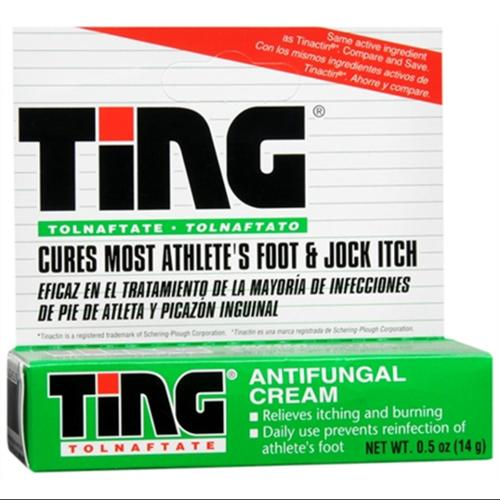 Ting Antifungal Cream 0.50 oz (Pack of 4)