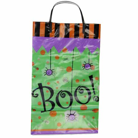Halloween Gift Bag - Boo Eeek Spiders Multiple Colors One Size for $<!---->