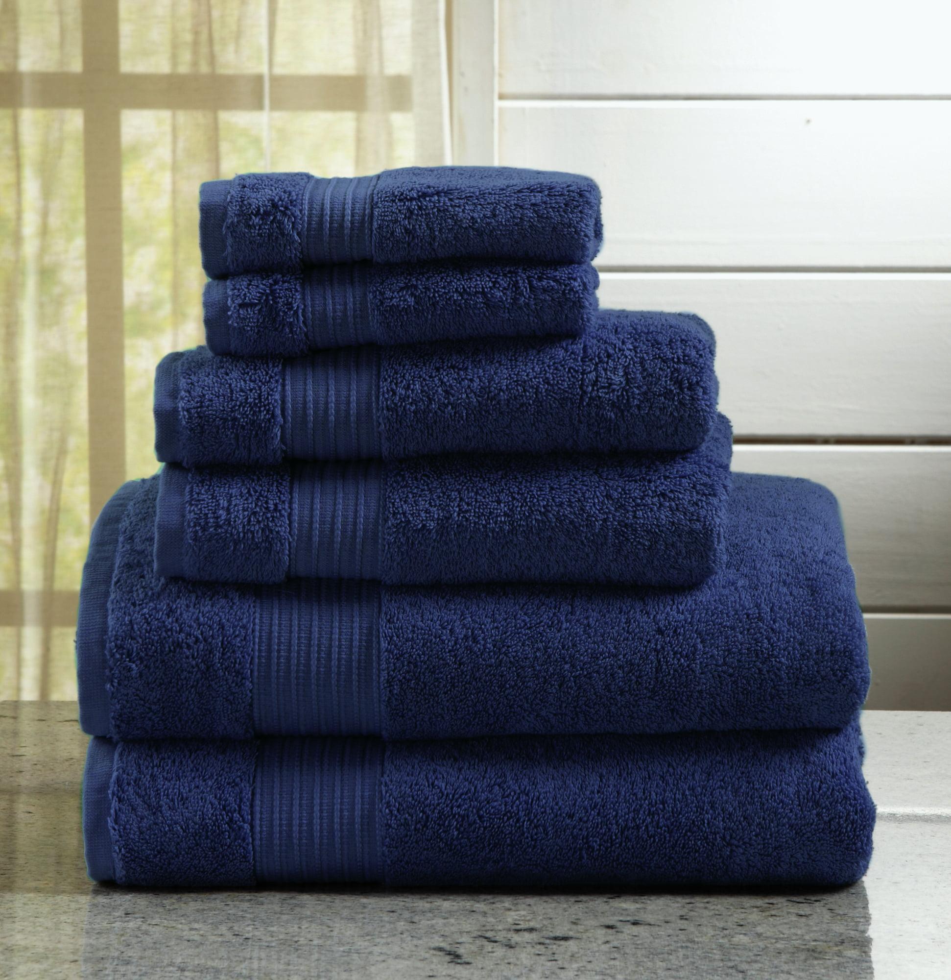 Grace Collection 6 Piece 100 Turkish Cotton Towel Set By Home