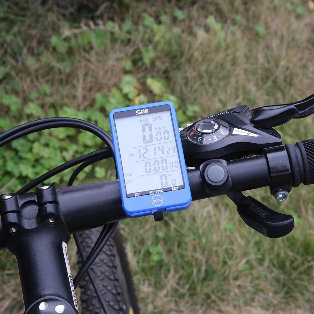 SunDing 29 Functions Wireless Cycling Bike Computer (Speedometer Odometer Stopwatch)