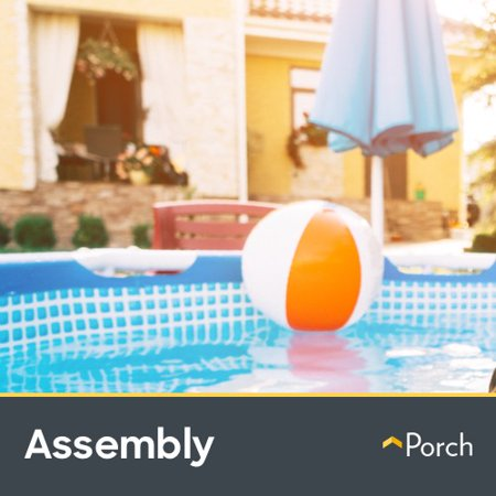 Above Ground Pool Installation (Up to 8hr) by Porch Home Services - Fiberglass Pool Installation