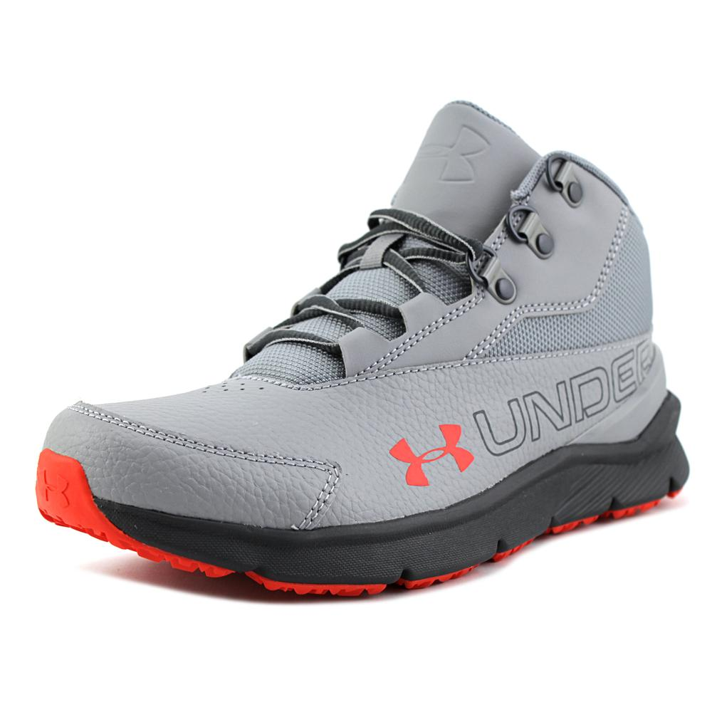 Under Armour BGS Overdrive Mid 2 TL Youth  Round Toe Leat...