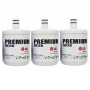 LG LT500P LT500 Premium Refrigerator Water Filter Catridge ADQ72910901, 5231JA2002A, GEN11042FR-08, 3 Pack