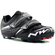 Northwave, Spike Evo, MTB shoes, Men's, Black, 42