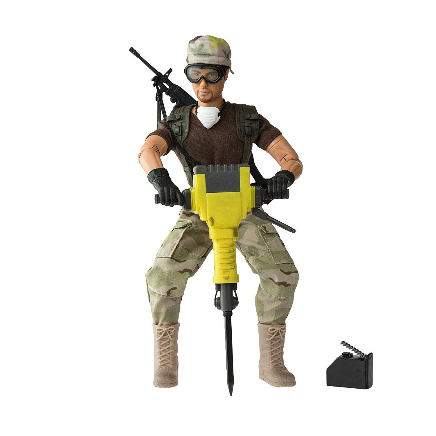World Peacekeepers Action Figure Army Toys 12 Inch Military Action Figure Army Man Army... by World Peacekeepers