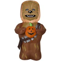 3.5' Star Wars Airblown Chewbecca w/ Pumpkin Halloween Inflatable