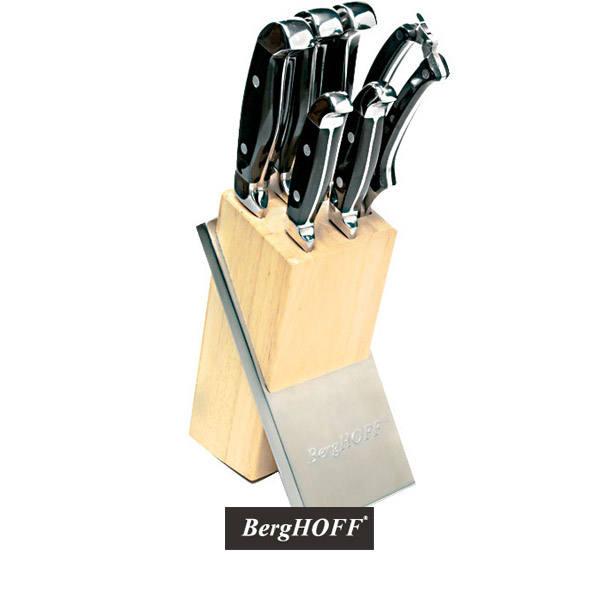 Berghoff Forged Knife Block Set 7 Piece by Berghoff