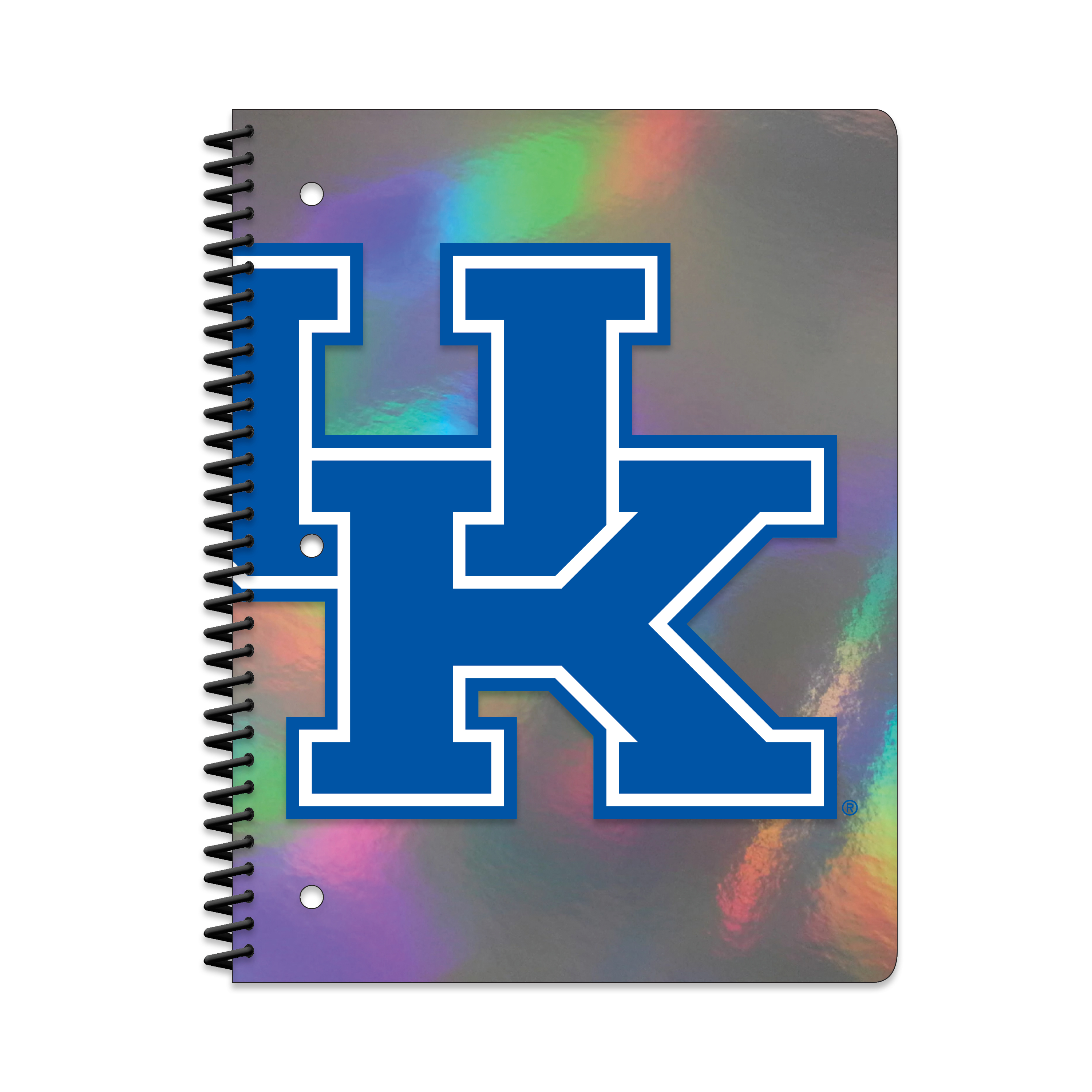 KENTUCKY WILDCATS HOLOGRAPHIC 1-SUBJECT NOTEBOOK
