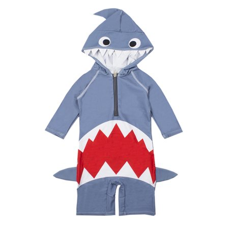 StylesILove Baby Boy Kids Shark Costume Swimsuit (3T)