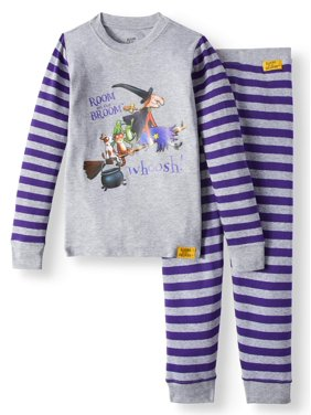 Room on a Broom Cotton Tight Fit Pajamas, 2pc Set (Toddler Boys or Toddler Girls Unisex)