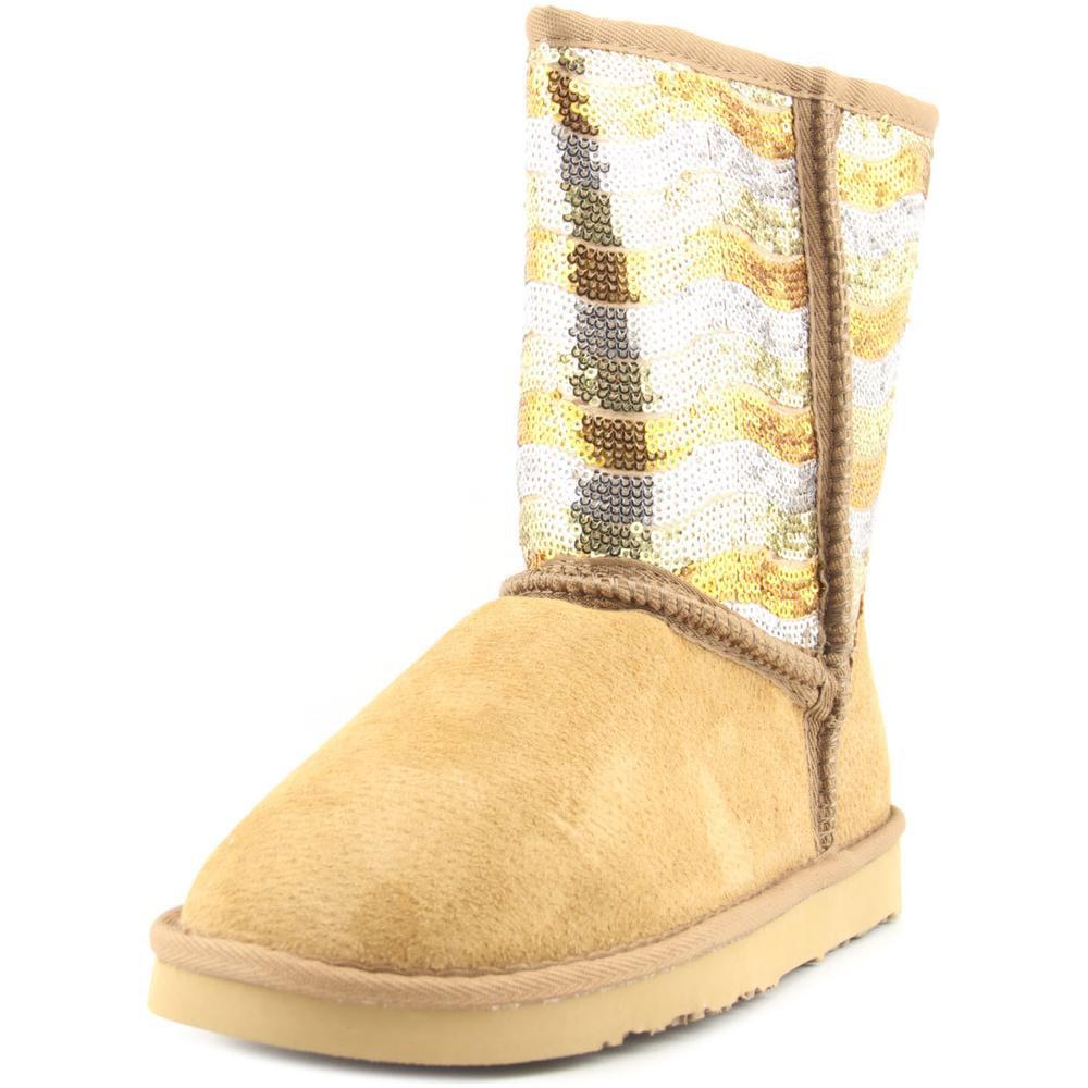Lamo Stripy Round Toe Suede Winter Boot by Lamo