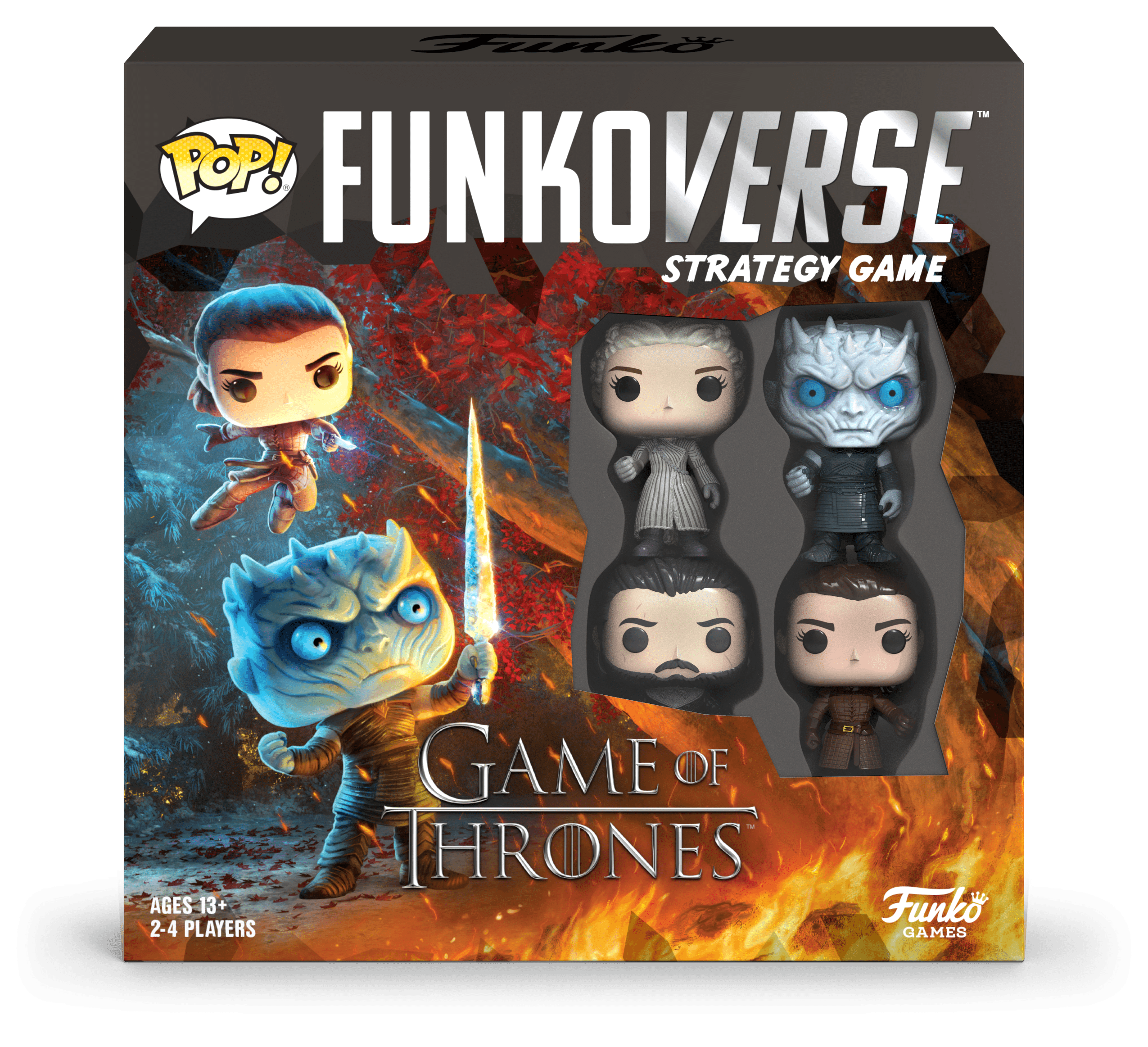POP! Funkoverse Board Game Game of Thrones #100 Base Set