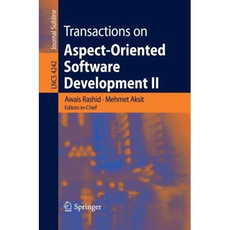 Transactions On Aspect Oriented Software Development