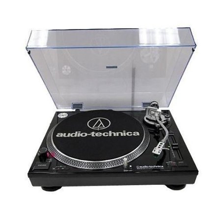 Audio-Technica AT-LP120-USB Direct-Drive Professional Turntable BLACK by