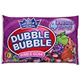 - Dubble Bubble - Fruitastic Fruit Flavors Wrapped Bubble Gum 16 oz - 2 Pack