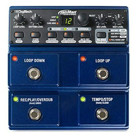 Digitech Jam Man Stereo Looper Delay Pedal Digitech Jamman Looper Pedal
