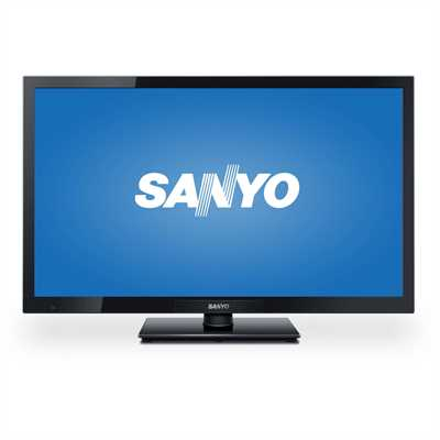 Refurbished Sanyo FW24E05T 24 Class 720p LED LCD HDTV