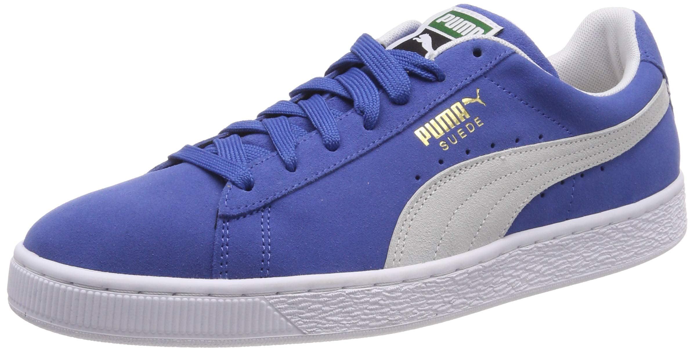 PUMA - Puma Men's Suede Classic Olympian Blue / White Ankle-High Fashion  Sneaker - 9M - Walmart.com