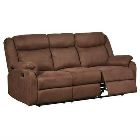 Global Furniture Reclining Sofa Chocolate