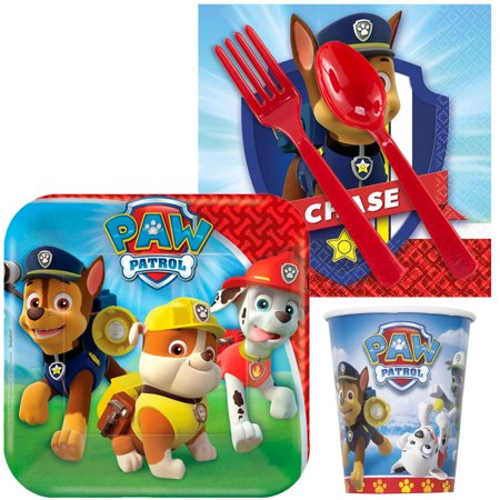 Paw Patrol Snack Party Pack For 16 Guests (Halloween Snacks For Class Parties)