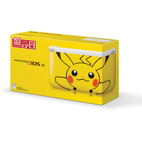 3DS XL Limited Edition Pikachu Handheld