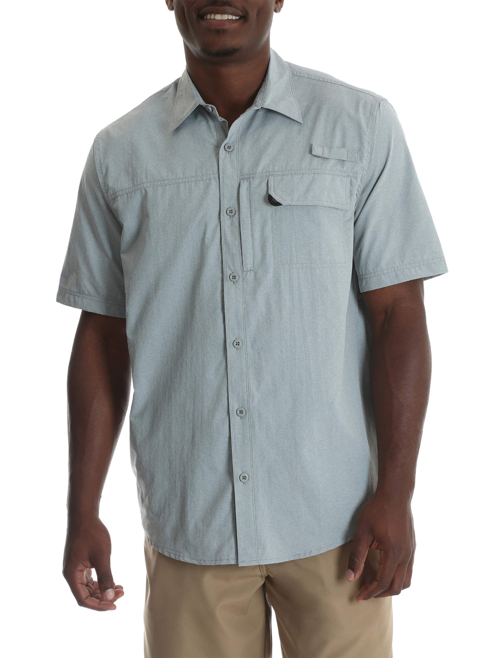 Wrangler 1 Pocket Button Down Shirt Powder Blue