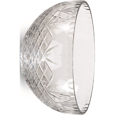 Optic Crystal 9.75inch Medallion II Salad Bowl (9.75x9.75mm)