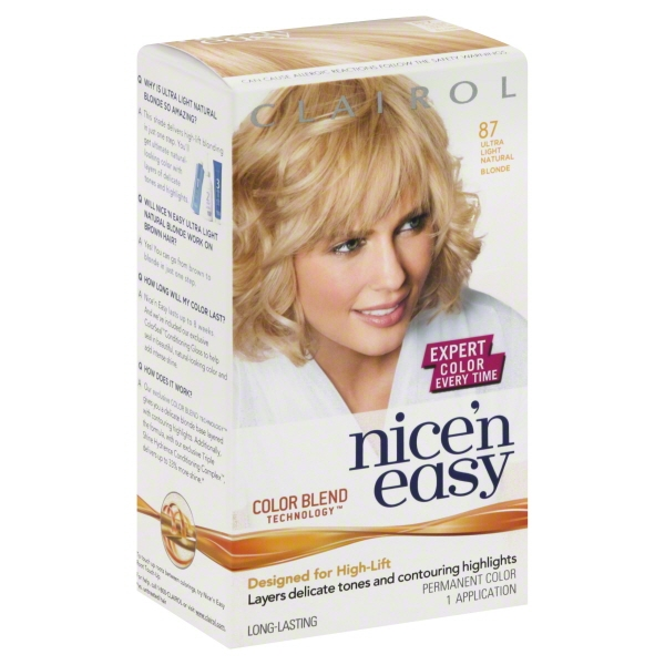 Clairol Natural Medium Champagne Blonde Nice 'n Easy