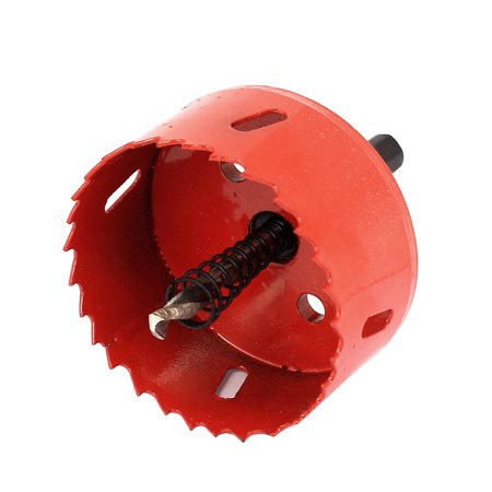 Unique Bargains Wood Aluminum Sheet Cutting Twist Drill Bit Bimetal Hole Saw Cutter 70mm Dia - Walmart.com