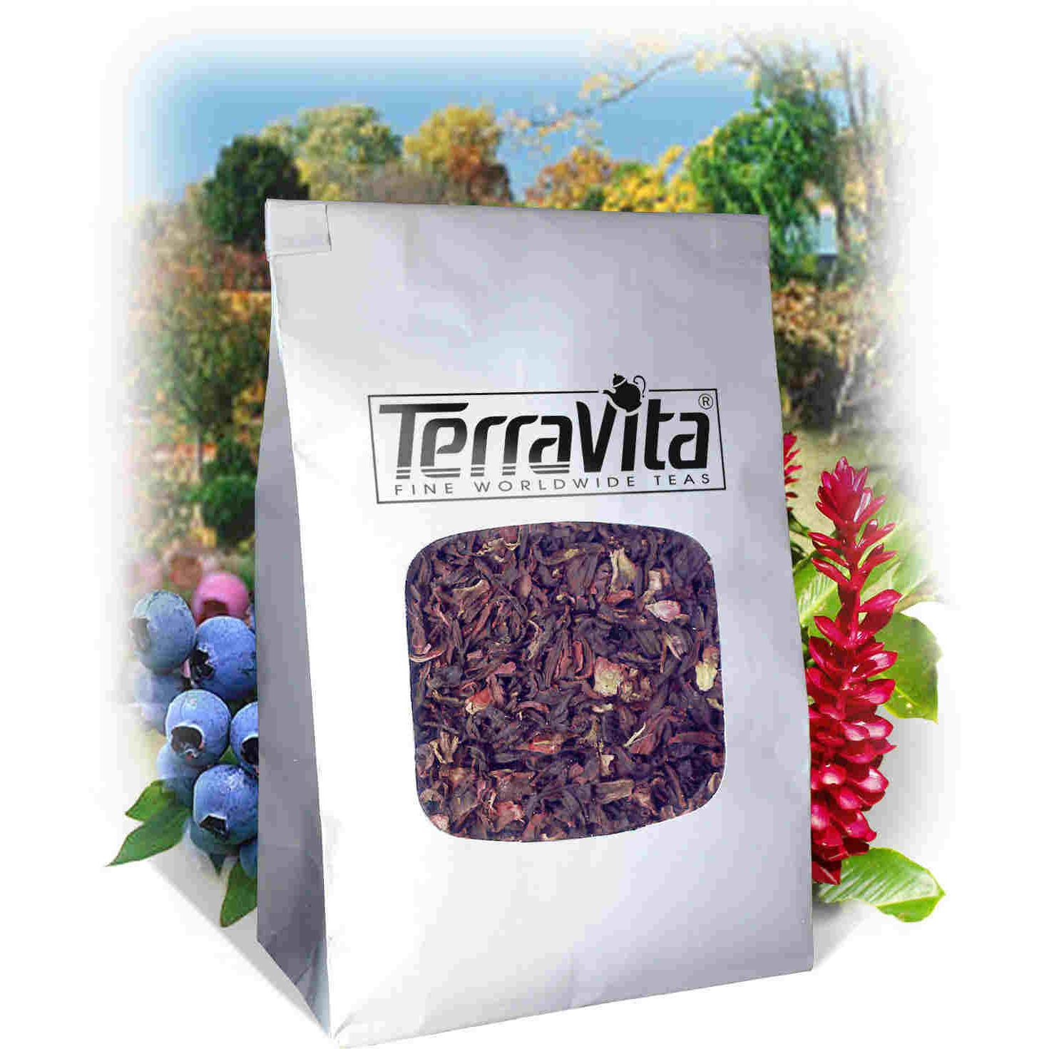 A Raspberry in Paris Rooibos Tea (Loose) (8 oz, ZIN: 518443) by TerraVita
