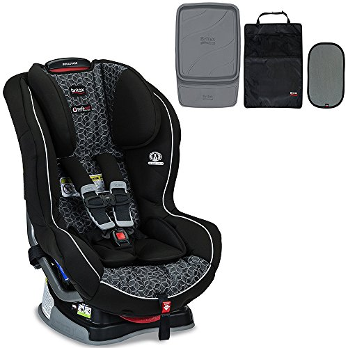 Britax Boulevard G4.1 Convertible Car Seat & Accessory Pack Bundle, Fusion