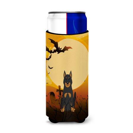 Halloween Beauce Shepherd Dog Michelob Ultra Hugger for slim cans BB4346MUK - Go2 Halloween