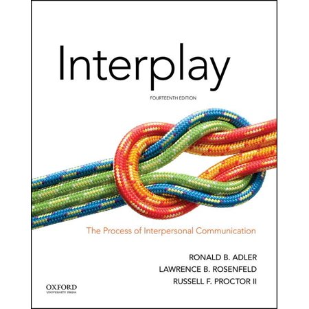 Interplay : The Process of Interpersonal (Best Model Of Communication)