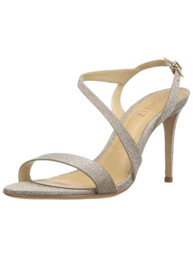 da8c446a6d3b Product Image Schutz Aleria Ouro Gold Glitter Open Toe Single Sole Evening  Sandal Cross strap (10)