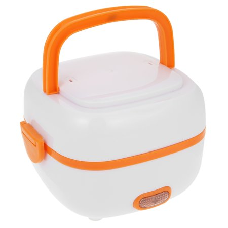 Mini Launch (Multifunctional Mini Rice Cooker Electric Meal Box Thermal Insulation Lunch Box Electric Heating Lunch Box with Steamer)