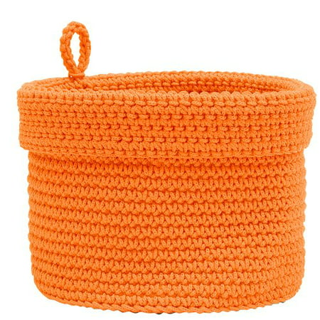 Heritage Lace Mod  Crochet Fabric Basket With - Crochet Halloween Basket