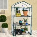 Pure Garden 3-Tier Portable Mini Greenhouse w/ Cover