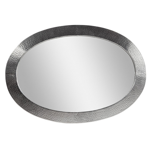 The Copper Factory Oval Mirror by The Copper Factory