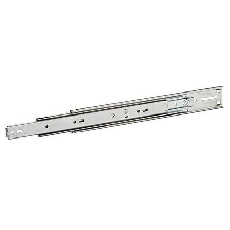 ACCURIDE C 2907-24D Drawer Slide, Bracket Mount, 3/4 Ext., Soft Close,