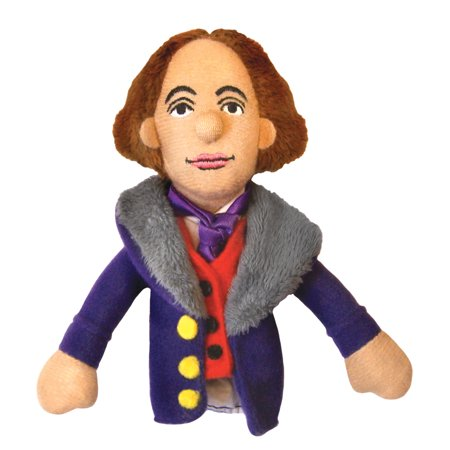 Oscar Wilde Finger Puppet and Refrigerator Magnet