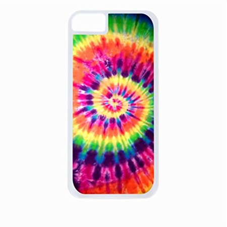 Ganma Hipster Tye Dye print colorful Rubber Case For iPhone 8 (4.7 inch) (Tye Dye Phone Case)